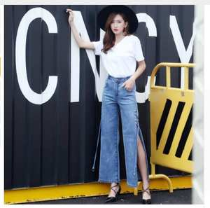 098d06e392f Liva girl 2018 skinny jeans female women denim pants