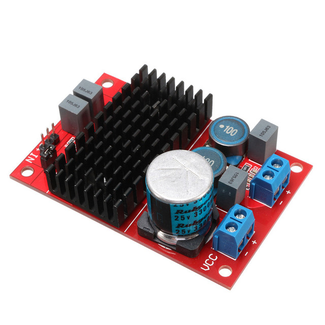 New Arrival Hot Selling DC 12V-24V TPA3116 Mono Channel Digital Power Audio Amplifier Board BTL Out 100W