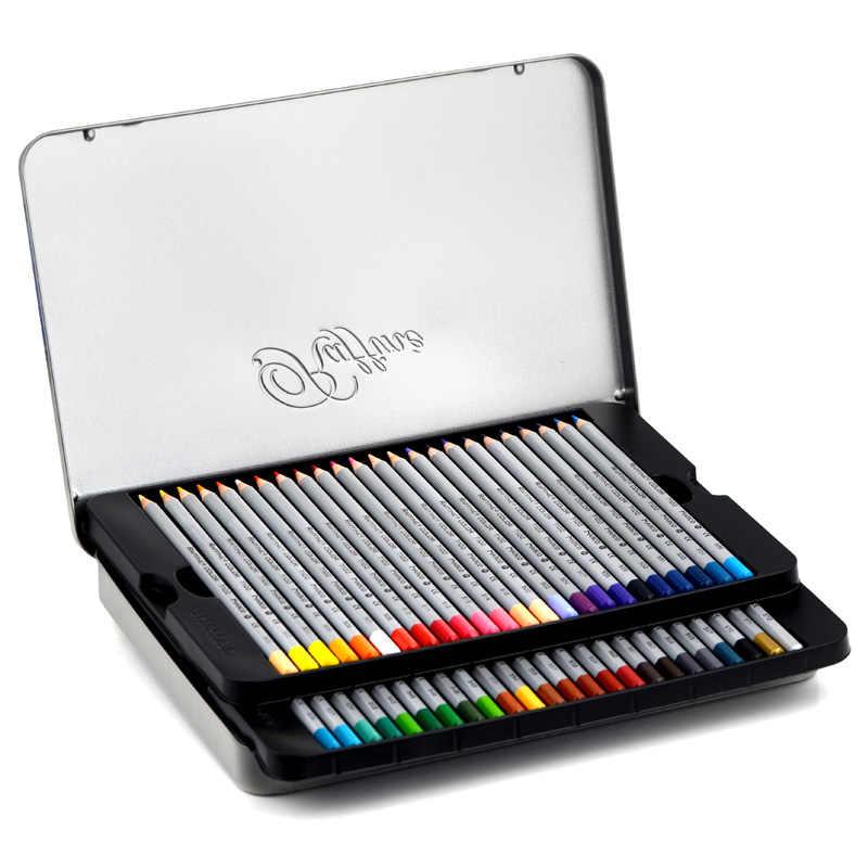 MARCO 24/36/48/72 pcs ดินสอสีชุด lapis de cor ปลอดสารพิษตะกั่ว - ฟรีผิวมันดินสอสีการเขียนโรงเรียน