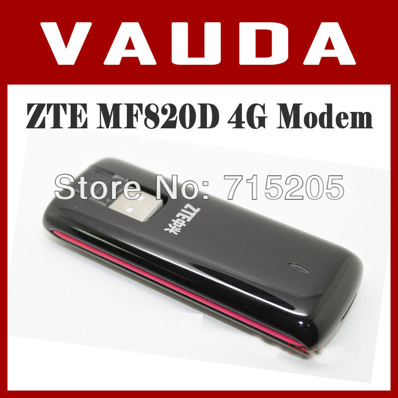 US $30 0 |ZTE MF820 /MF820D 4G LTE Modem 100Mbps PK huawei E398 WIFI  wireless unlocked LTE band(1800/2100/2600)-in Network Cards from Computer &