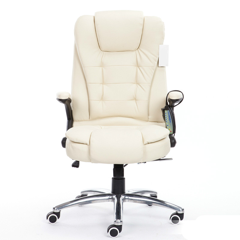 High Quality Super Soft Office Chair Lifting Leisure Lying Household Computer Chair Ergonomic Massage Swivel Boss Chair 240337 ergonomic chair quality pu wheel household office chair computer chair 3d thick cushion high breathable mesh
