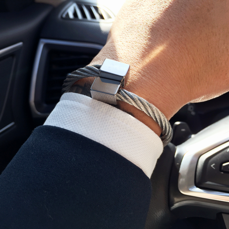 316L Stainless steel bangle Men bracelet Titanium Adjustable Opening cuff Charm jewelry pulseras hombre luxury jewelry bangles