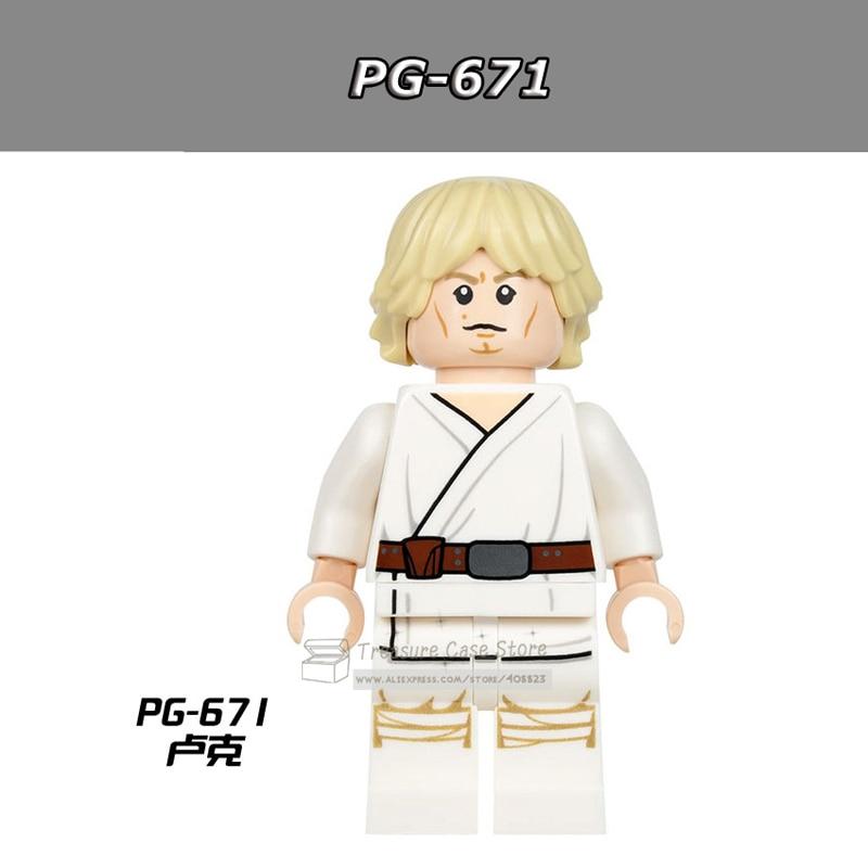 PG671 Luke Skywalker Figure Star Wars Building Toys Blocks