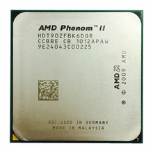 CPU Processor Amd Phenom 1090x6 Six-Core Ghz Hdt90zfbk6dgr-Socket AM3 Edition II Black