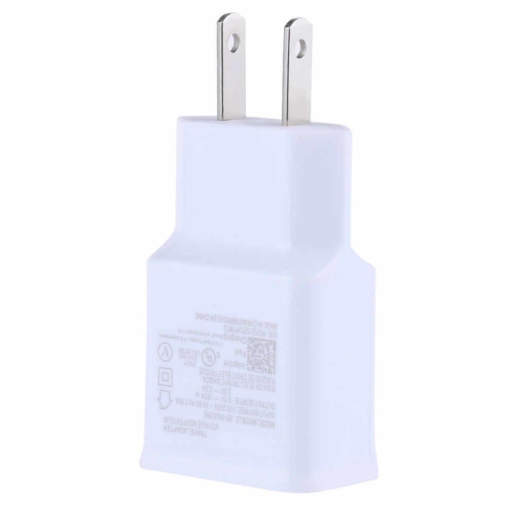 Szybka ładowarka Adapter do Huawei/IPhone/Xiaomi/Meizu/Oppo/Vivo carregador wtyczka podróżna 3 porty USB ameryka północna domu