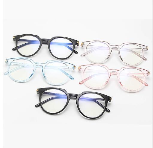2018 Neue Designer Frau Brille Optische Rahmen Metall Runde Brille Rahmen Klare Linse Eyeware Kaufen Sie Immer Gut