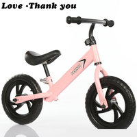 12 inch children's bicycle balanced vehicle taxiing vehicle without pedaling vehicle