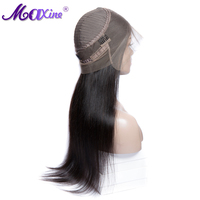 Maxine Hair Brazilian Straight Wig 360 Lace Frontal Wig Pre Plucked With Baby Hair 130% Density 10 24 Inch Lace Frontal Wig