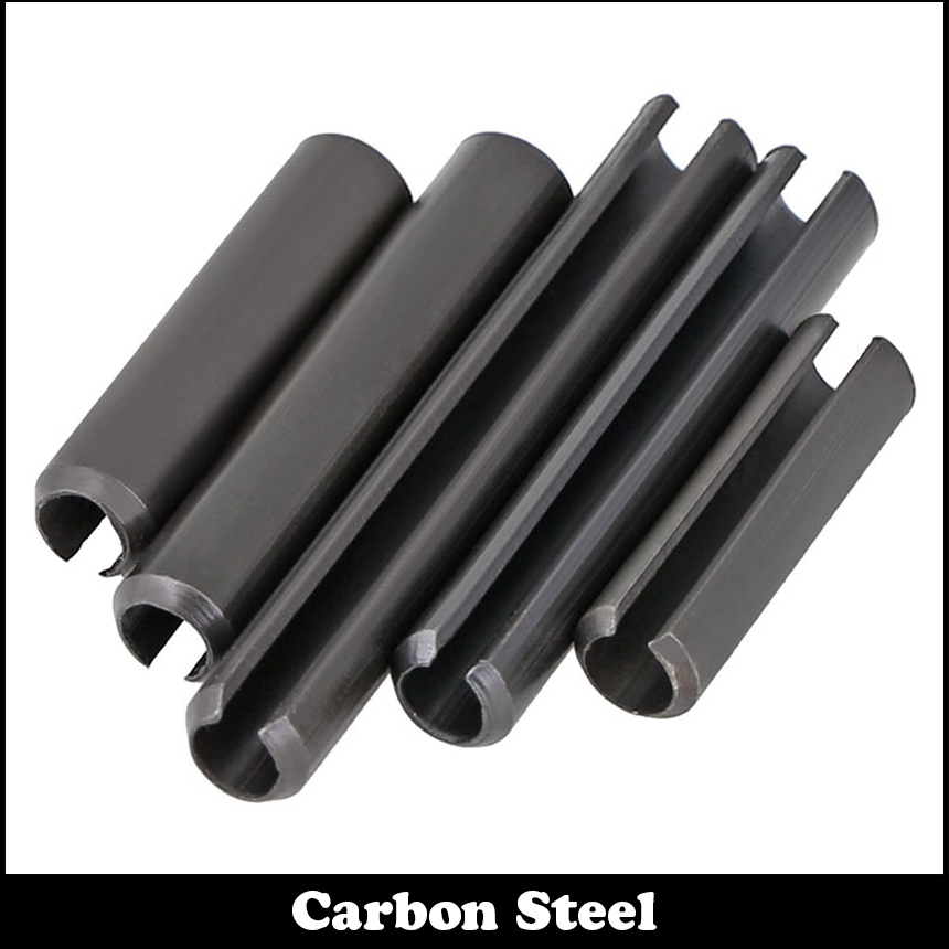 M4*25 M4x25 M4*30 M4x30 M4*35 M4x35 Black Zinc Plate Carbon Steel DIN1481 Parallel Dowel Split Elastic Cotter Slotted Spring Pin|Pins|Home Improvement - title=
