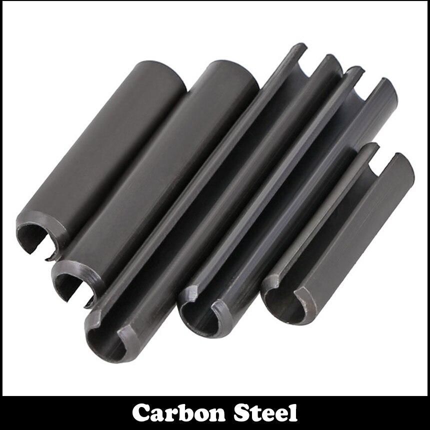 M4*25 M4x25 M4*30 M4x30 M4*35 M4x35 Black Zinc Plate Carbon Steel DIN1481 Parallel Dowel Split Elastic Cotter Slotted Spring Pin