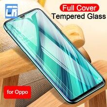 Cubierta completa de vidrio templado para OPPO Realme X Lite Reno Z Protector de pantalla para OPPO K3 A1K A3 A3S A5 a7 A7X A9X película protectora