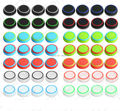 200 pcs 14 Colors Rubber Silicone Analog Thumb Stick Grips Caps for Dualshock 4 PS4 Controller Thumbsticks Cover For XBOX ONE