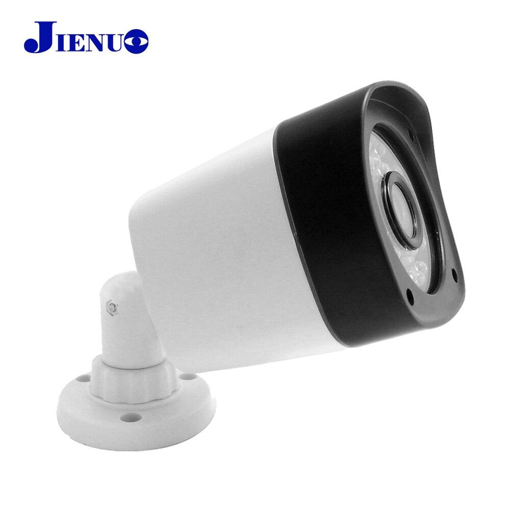 JIENU ip Caméra 1080 P CCTV Sécurité Extérieure Système De Surveillance À Domicile Cam Étanche Mini Ipcam Infrarouge Soutien ONVIF 1920*1080
