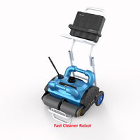 ICleaner 200 Smart Pool Cleaner Robot , Automatic Swimming Pool Cleaner With 20m Cable,Wall Climbing Function and Remote Control