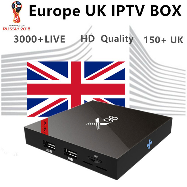 X96 Uk Iptv 4k Android Tv Box Uk French Germany Arabic Turkey