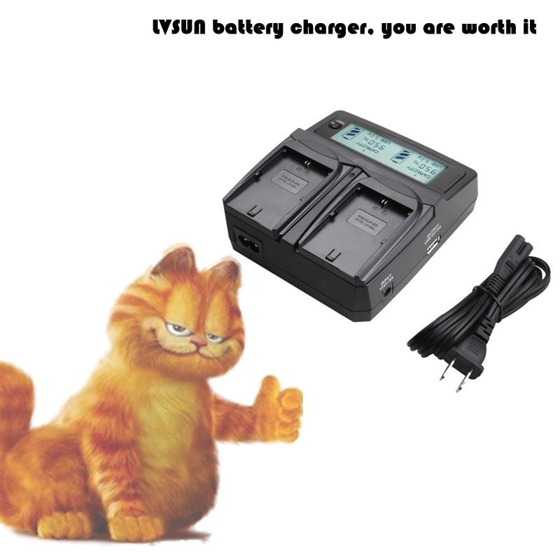 LVSUN font b Camera b font Battery EN EL23 EN EL23 Dual Channel Car AC Charger