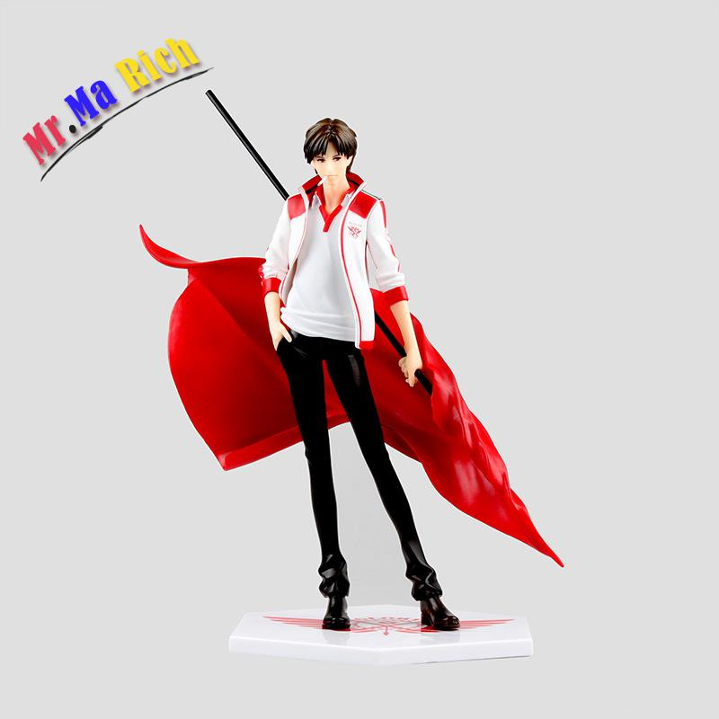 23cm New Hot Game Glory Anime Action Figure The Master Of Skill Ye Xiu Red Flag Smoking Ver Pvc King's Avatar Model Handsome secrets of the russian chess master – fundamentals of the game v 1