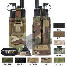 Эмерсон тактический MOLLE MBITR PRC148 152 чехол для радио EmersonGear рация Карманный w/выпуска Пряжки для крепления RRV жилет