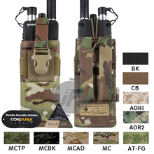 Emerson Tactical MOLLE MBITR PRC148 152 Radio Pouch EmersonGear Walkie Talkie Pocket w/Release Gesp voor Bevestigen RRV Vest