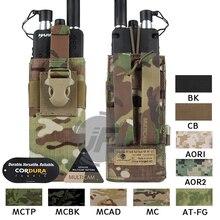 Emerson bolsa de Radio táctica MOLLE MBITR PRC148 152, bolsillo para Walkie Talkie EmersonGear con hebilla de liberación para sujetar chaleco RRV