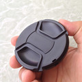 10PCS 49 52 55 58 62 67 72 77 82mm Len Caps Center Snap-on Front Lens Cap Cover for all Digital SLR Camera no logo