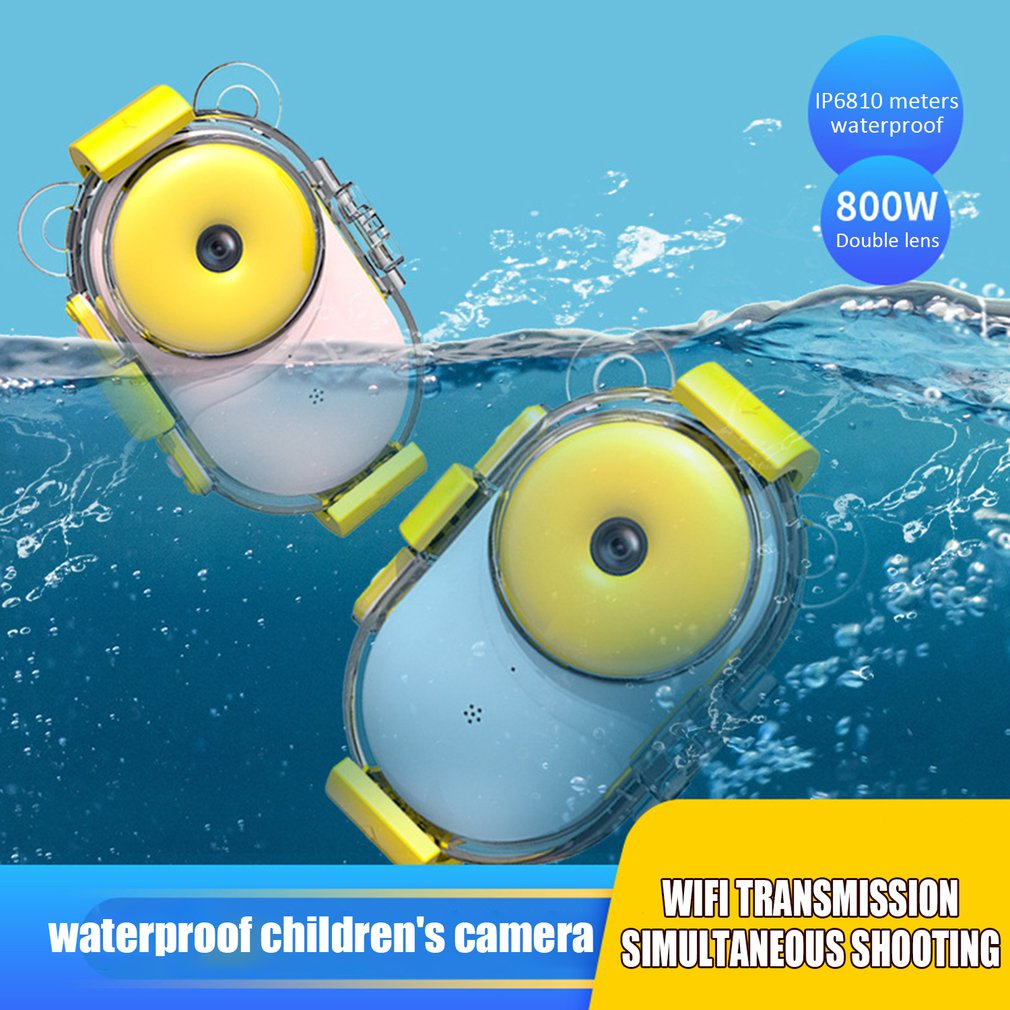 Children Mini Digital Camera Kids Educational Toys for Children Baby Gifts Birthday Gift Camera 1080P Projection Video Camera