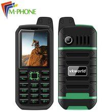 Vkworld камень V3 плюс мобильный телефон 2.4 дюймов Dual SIM 4000 мАч Батарея IP54 пыле Водонепроницаемый bluetooth fm радио мобильный телефон