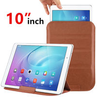 Case 10 inch Sleeve Tablet PC Protective Smart cover Protector Leather For huawei Asus Lenovo PU 10.0 inch Tablets Cases Covers