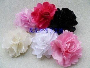 Hot Ing Artificial Flower Hair Pin Diy Bean Sprout Alligator Clip