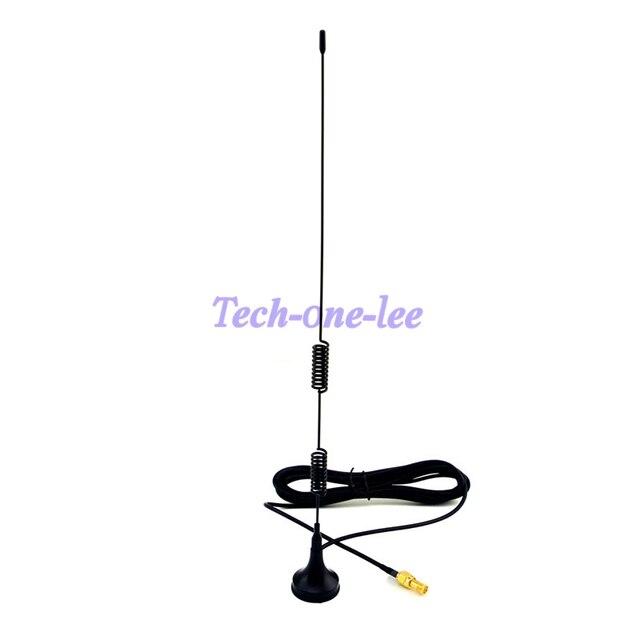 10 шт./лот 4 Г Антенна SMA 5dbi 4 г lte Антенна 698-960/1700-2700 МГц магнитного основанием RG174 3 М + Адаптер SMA женский к SMA женский