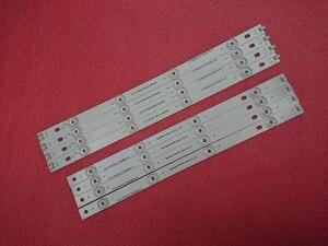 Image 2 - Yeni 8 adet/takım LED şerit LG için yedek parça LC420DUE 42LB5500 42LB5800 42LB560 INNOTEK DRT 3.0 42 inç A B 6916L 1710B 6916L 1709B