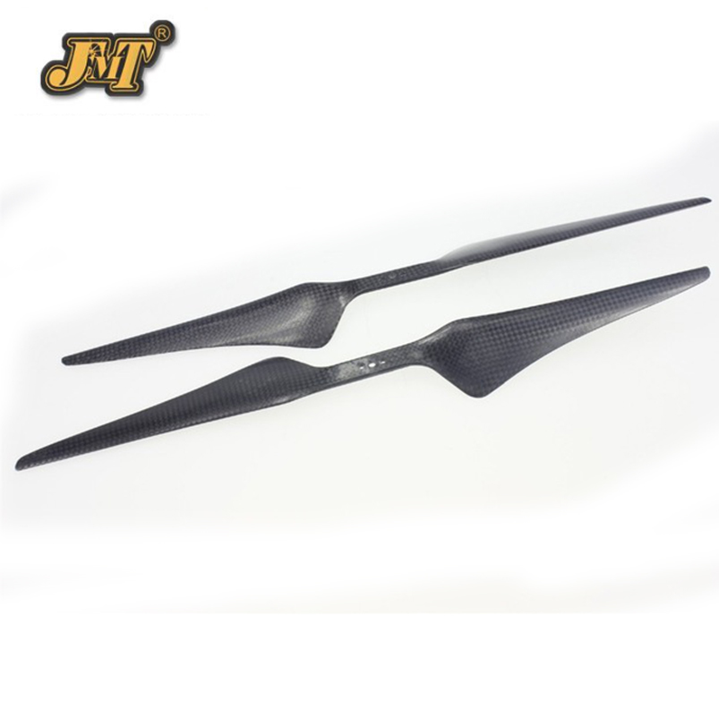 JMT 15x5.5 3K Carbon Fiber Propeller CW CCW 1555 CF Pros Cons Props Prop For Hexacopter Octocopter Multi Rotor RC Drone 10x3 8 3k carbon fiber propeller cw ccw 1038 cf props cons for dji f45