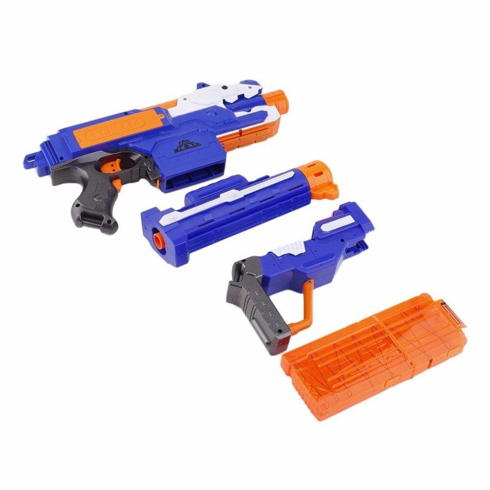 Armas de Brinquedo elétrica arma de brinquedo macio Tipo Pacote Include : 1 x Toy Gun Body, 1 x Cartridge Holder, 20 x Bullets, 1 x Target