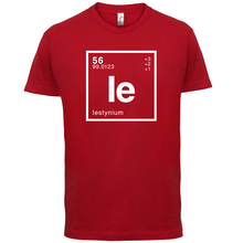 IESTYN Periodic Element - Mens T-Shirt Geeky / Chemistry 13 Colours Print T Shirt Short Sleeve Hot Tops Tshirt Homme
