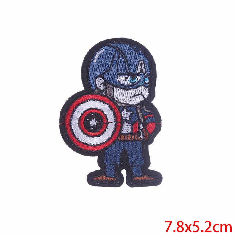 Pulaqi הנוקמים באטמן תפירת ברזל על תיקוני סופר hero רקום תיקונים לבגדי ילדים חולצה תפאורה אביזרי F