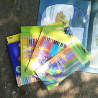 Water Colored Pencils Painting Colour Pencil Children S School Gift Cute Drawing Pencil For Kids 12
