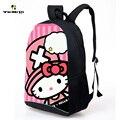 Новый милый привет китти сумка бао дизайн печать школьный дети рюкзак девушки bookbag детей младшего школьного возраста Mochila женский