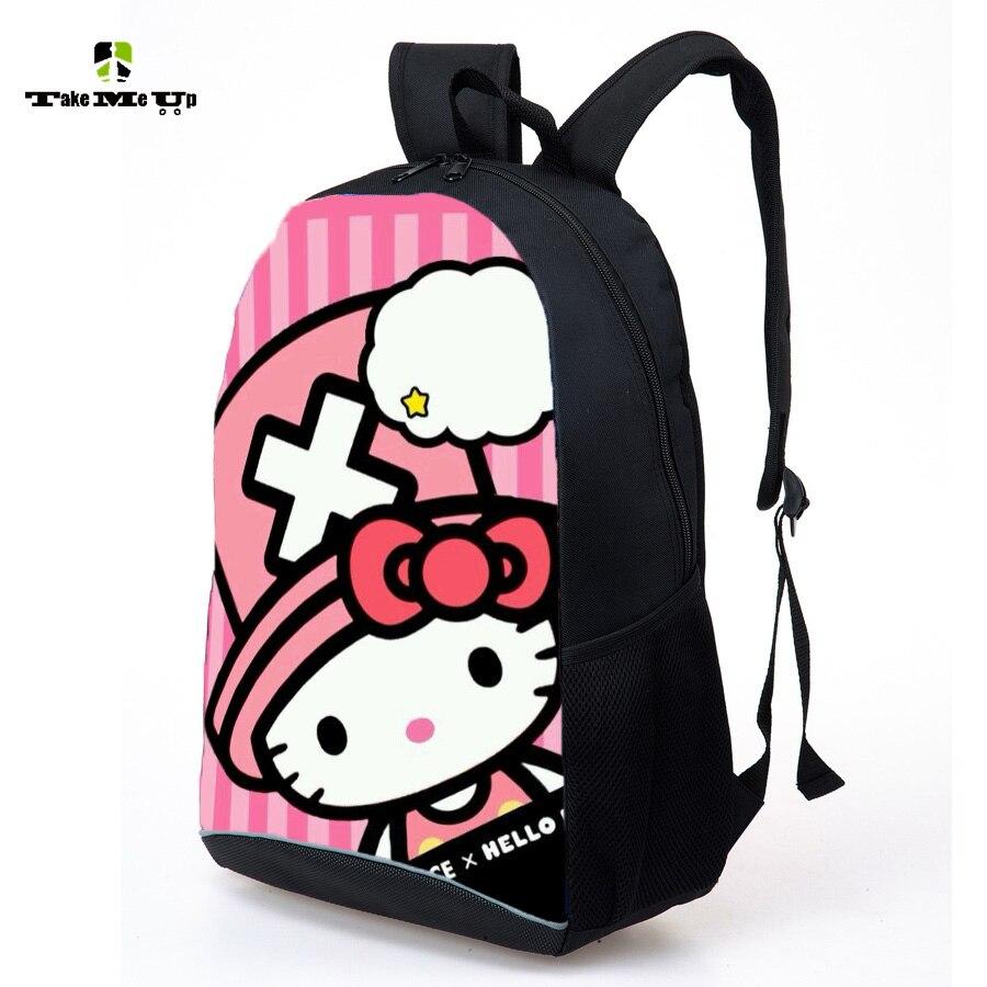 School bag new design - New Cute Hello Kitty Bag Bao Bao Design Printing Schoolbag Kids Backpack Girl S Bookbag Primary School