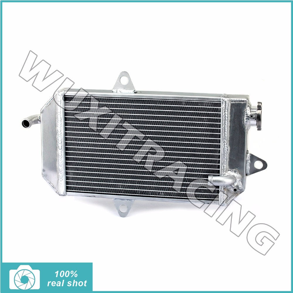все цены на  Aluminium Core New Motorcycle ATV Quad Dirt Bike Radiator Cooling Cooler for YAMAHA YFZ350 YFZ 350 Banshee 1987-2006 88 89 90  онлайн