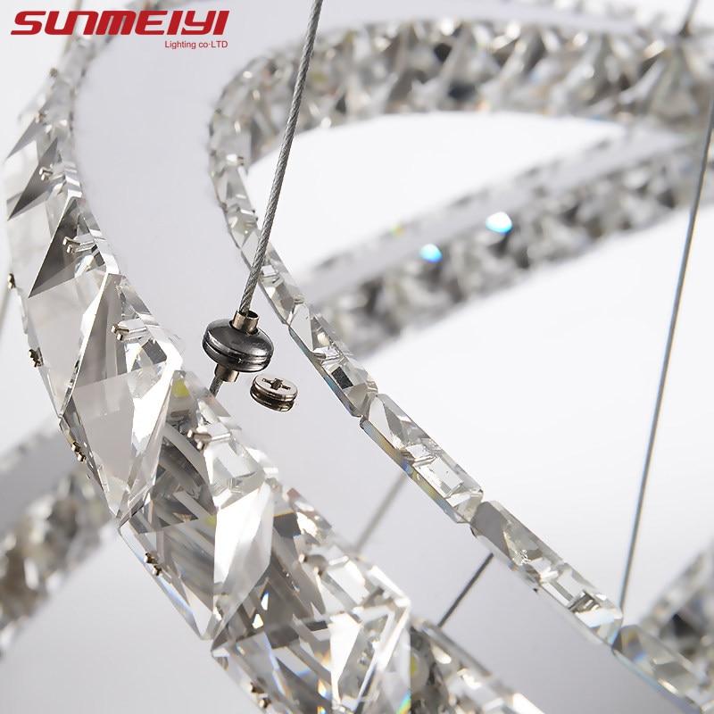 Σύγχρονη LED κρύσταλλο πολυέλαιος Φώτα - Εσωτερικός φωτισμός - Φωτογραφία 5