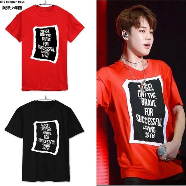 d9b5a8ce5dfd new kpop BTS Design Short Sleeve T-shirt Women Funny Black O-Neck Casual Woman  Tshirt Top Summer Bangtan Boys Kpop Tee Top