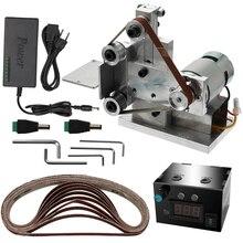 Grinder Belt-Sander Polishing-Grinding-Machine Electric Multifunctional Mini DIY Cutter