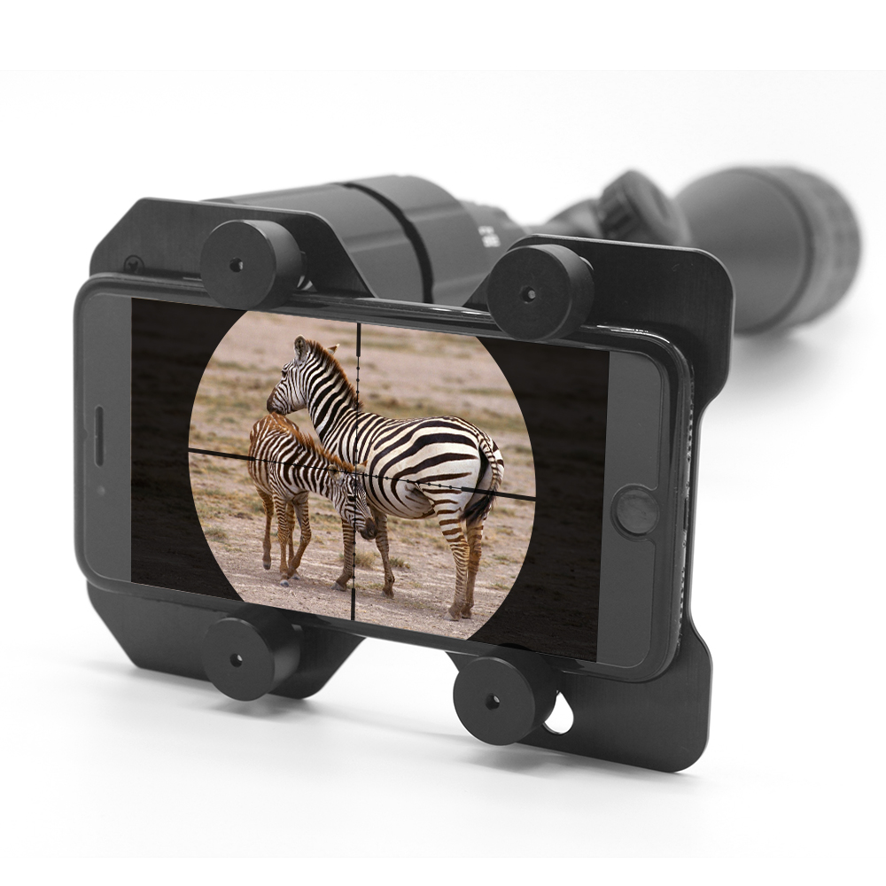 Rifle scope font b Smartphone b font Mounting System Smart Shoot Scope Mount Adapter Display Record