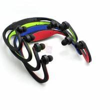 Спортивный MP3-плеер, портативные музыкальные наушники для бега, наушники, гарнитура с TF слотом для карт, MP3 музыкальный плеер