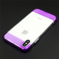 Clear TPU Case For iPhone 7 Case iPhone 8 Accessories Colorful Edge Shock Proof Coque Newest Design Soft Cover For iPhone 6