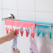 Portable Fabric Hangers Socks Underwear Small Clip Clothespins Windproof Clothes Drying Clips Travel Clothe