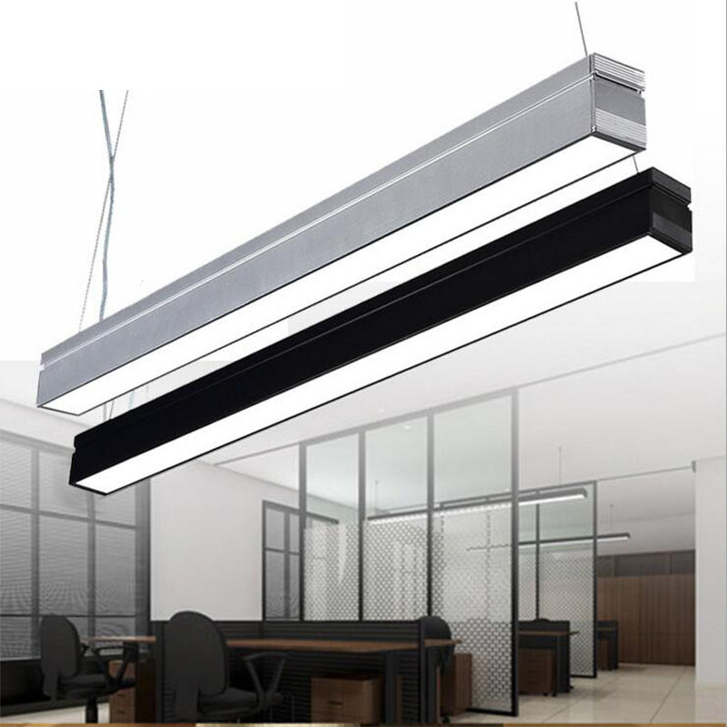 led office lighting 18W aluminum office chandeliers LED strip ceiling lights hanging lighting fixture led office ceiling lampsled office lighting 18W aluminum office chandeliers LED strip ceiling lights hanging lighting fixture led office ceiling lamps