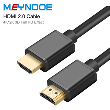 HDMI 2.0 Cable HDMI to HDMI Splitter Switch 4K 3D Jack HDMI Audio Video Cable Jack Gold plated Extender for TV Projector Adapter