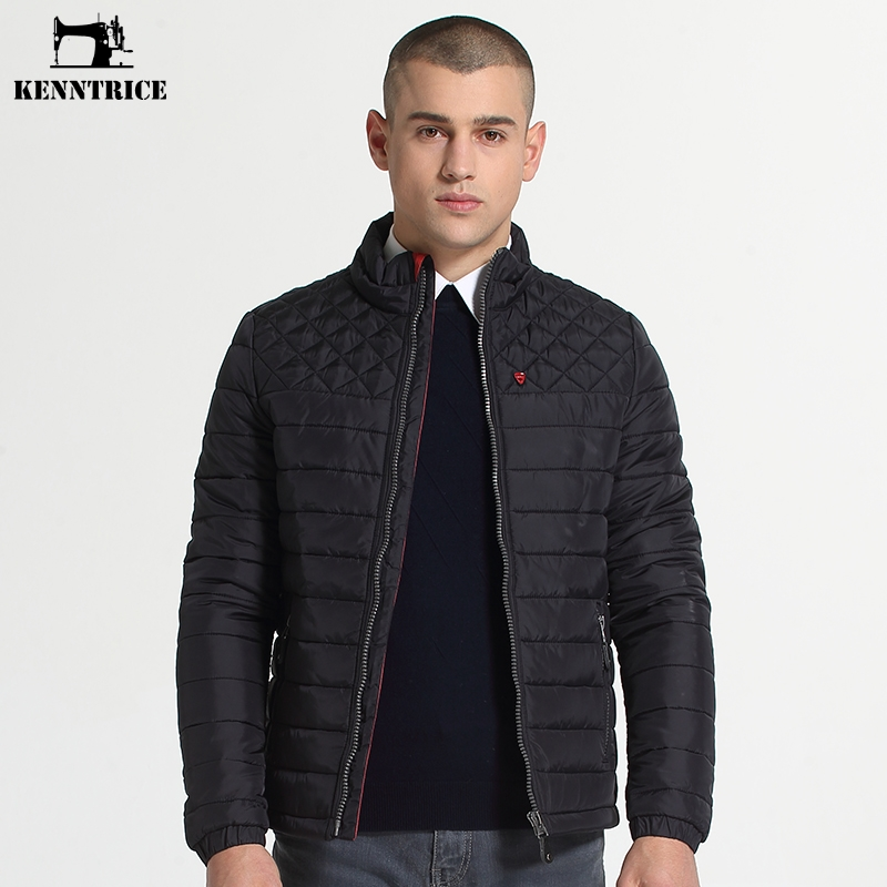 Kenntrice Winter Jackets Mens Nylon Quilted Jacket Male Fashion ... : quilted winter jackets - Adamdwight.com