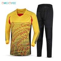 Onedoyee Men S Goalkeeper Jerseys Soccer Football Training Set Uniform Long Sleeve Futbol Tracksuit Doorkeeper Kit